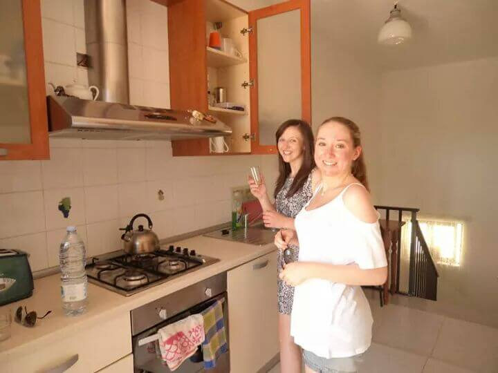 Guest Kitchenette at Looza homestay Malta