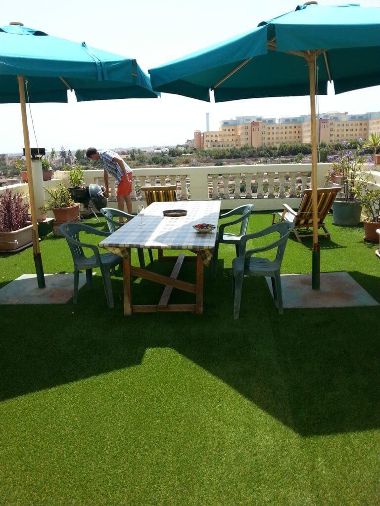 Terrace Looza homestay Malta
