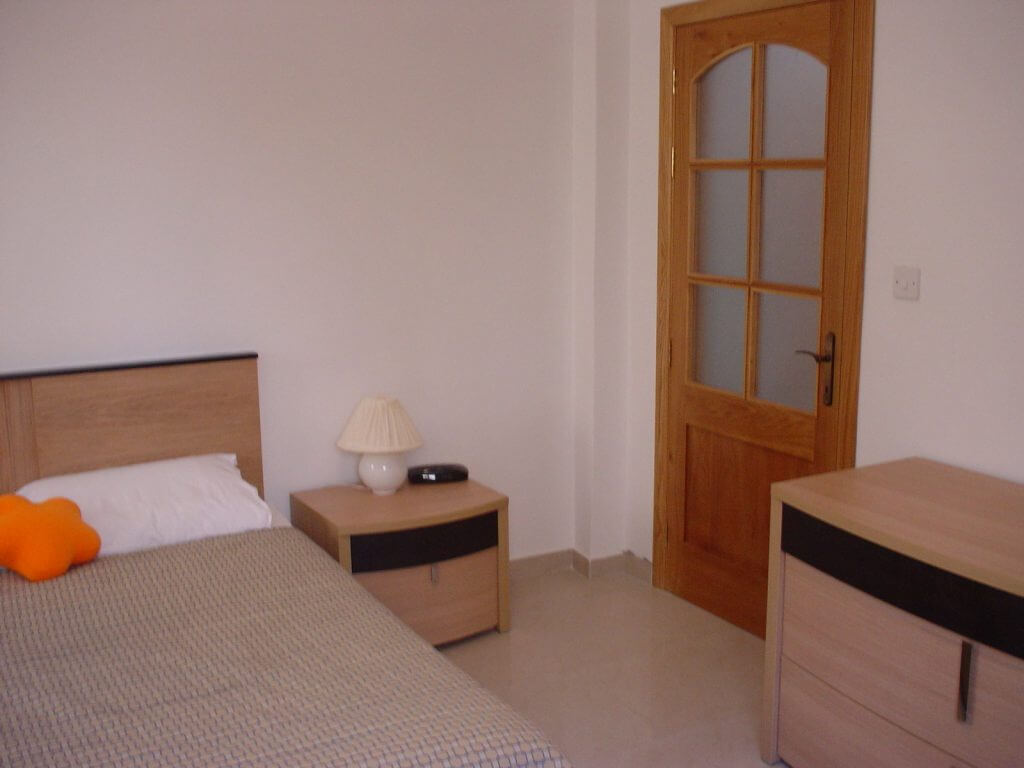 Bedroom shared self-catering apartment Sliema