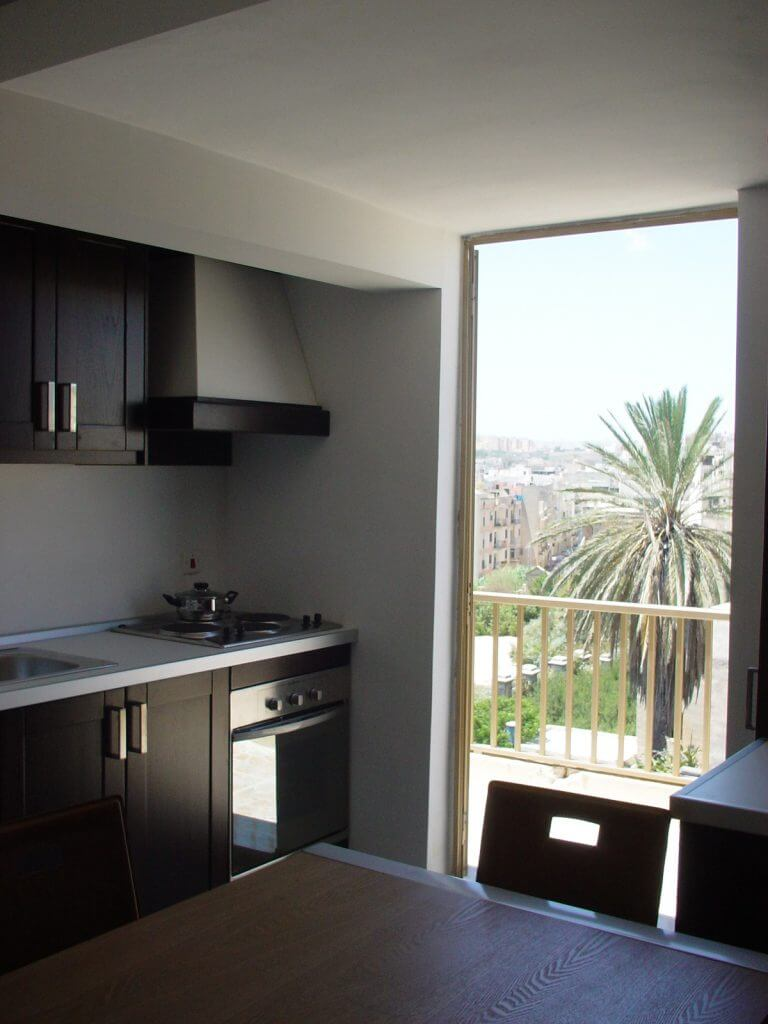 Kitchenette shared self-catering apartment