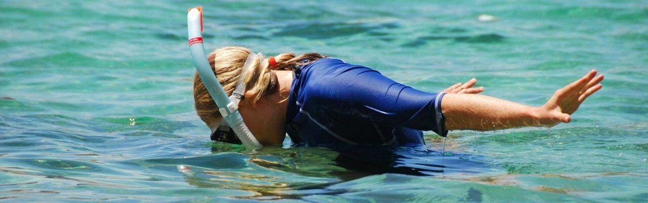 snorkling in Malta