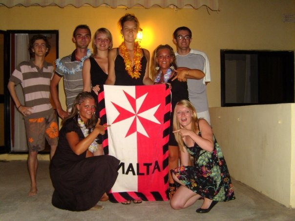 English Language students in Malta
