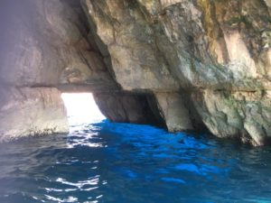 Blue Grotto caves